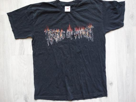 Vintage Cradle Of Filth Midian shirt
