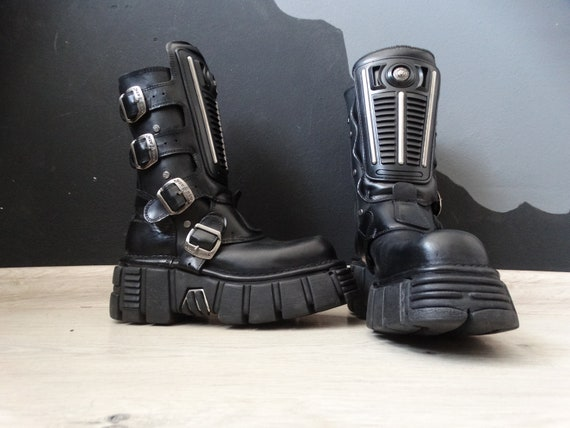 New Rock 90's Vintage Gotic Platform Boots/Cradle