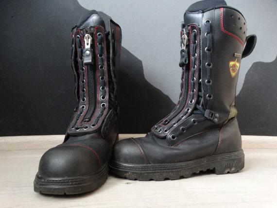 Haix Fire fighting boots EU 39 ,Military Combat Bo