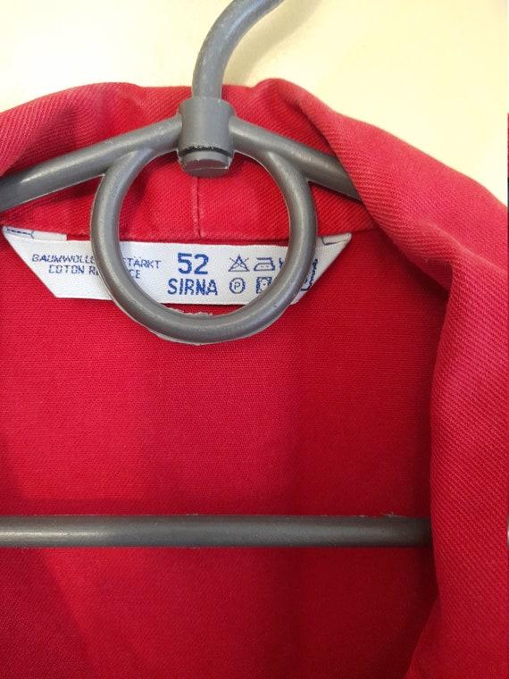 Vintage Audi Mens workwear boilersuit ,racing boi… - image 6