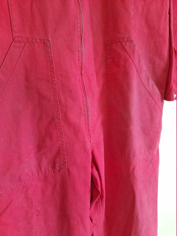 Vintage Audi Mens workwear boilersuit ,racing boi… - image 5