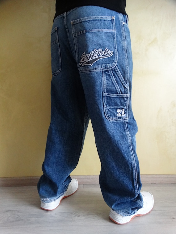 90s Southpole  Jeans pants 90s hip hop clothing ,v