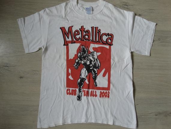 Vintage Metallica Shirt 2002 ,Vintage Metallica 'C