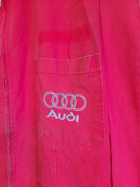 Vintage Audi Mens workwear boilersuit ,racing boi… - image 4