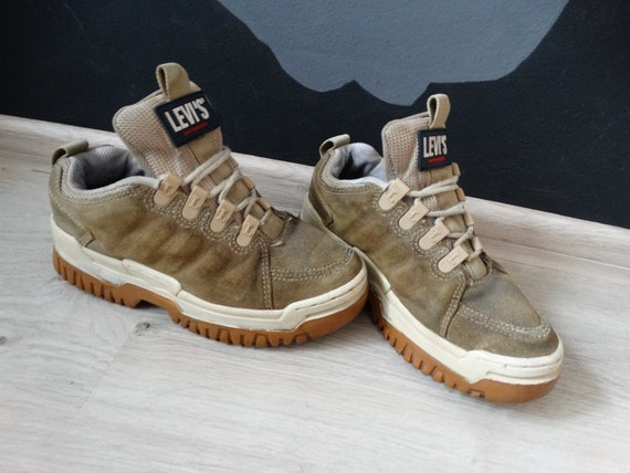Vintage Levis San Francisco Platform shoes 90s vin