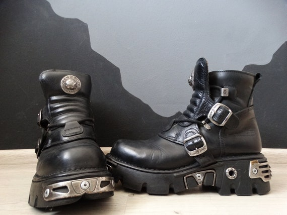 New Rock 90's Vintage Gotic Platform Boots/Cradle