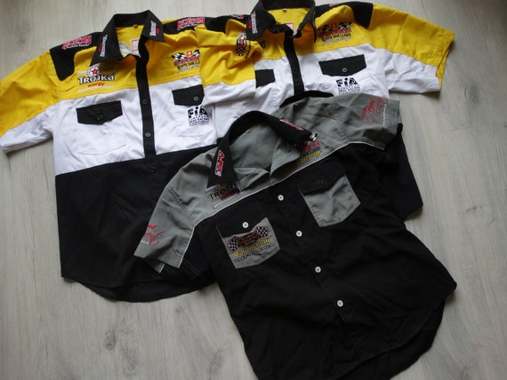 Vintage G-FORCE Racing Gear ,race team rare retro,