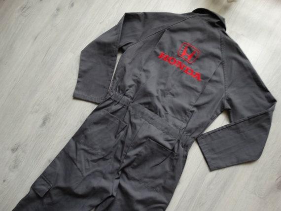 Vintage Mens Honda workwear boilersuit ,racing bo… - image 10