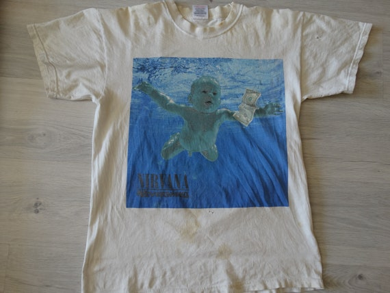 2002 Vintage Nirvana Nevermind Tee-Alice in Chains