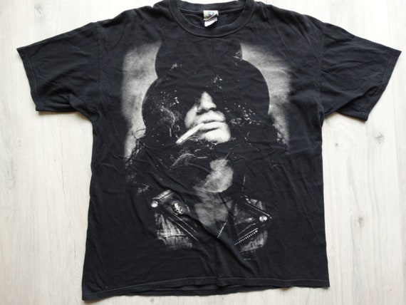 Vintage Guns N Roses Slash shirt XXL  ,Liquid Blue