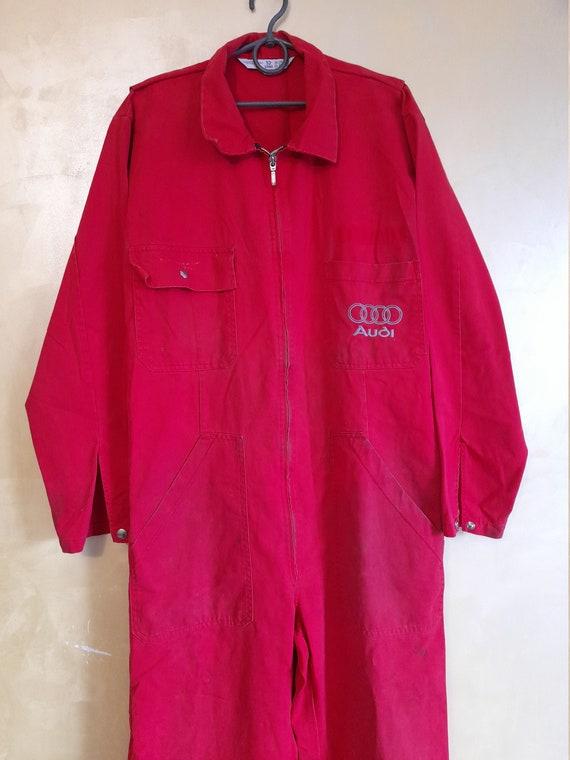 Vintage Audi Mens workwear boilersuit ,racing boi… - image 1