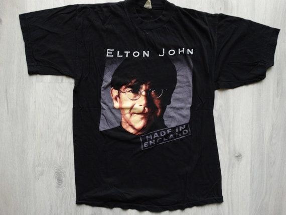 Vintage Elton John Made in England tour shirt