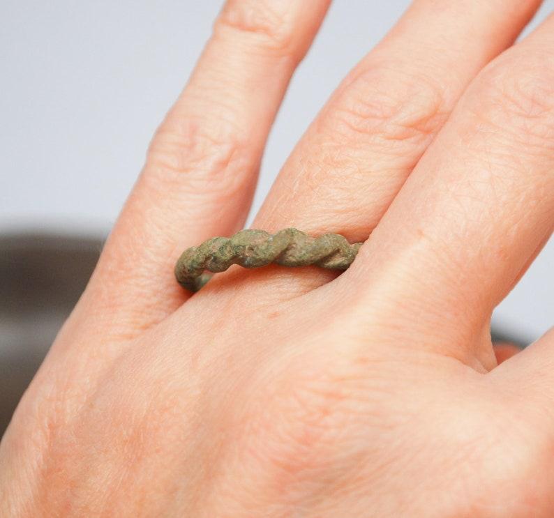Reserve for DJ......Antique brass bronze ring jewelry woman unisex man ring. original dark patina