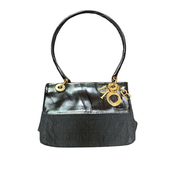 Christian Dior Lady Dior Nylon Shoulder Bag