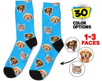 Super Cute Socks Funny Pug Socks Cute Doggy Socks, Custom Printed Socks Great Gift Socks Trendy Dog Socks