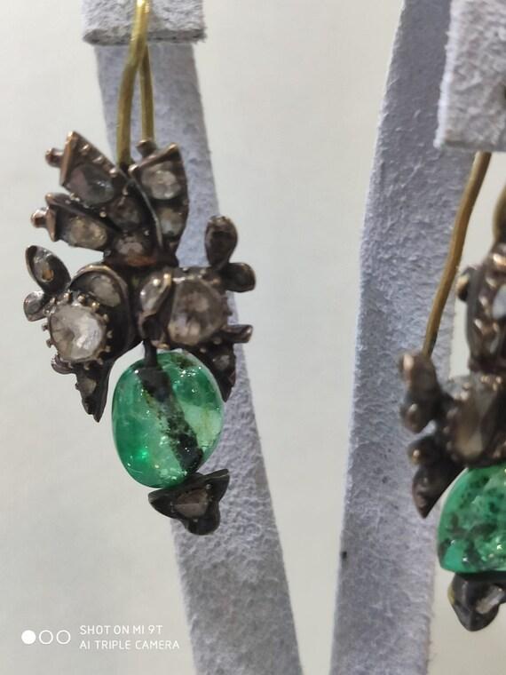 OTTOMAN Diamond Ruby Gold Earrings