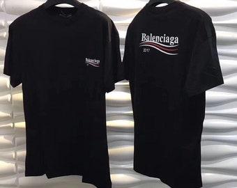 3cdcb0bc674 Balenciaga Shirt Balenciaga Logo Shirt Inspired t shirt High Fashion  Inspired Trendy Luxury T Shirt Black Hype beast shirt Gucci shirt