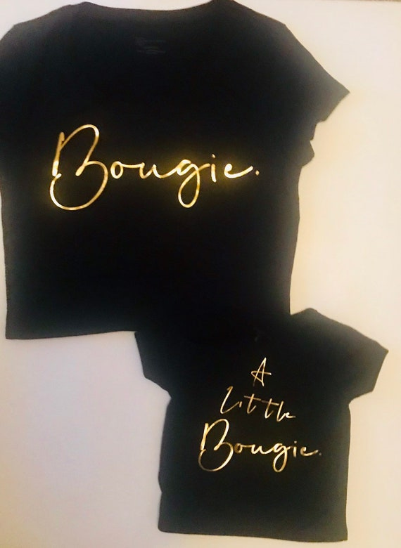 Bougie Lil Bougie Mommy and Me Shirt