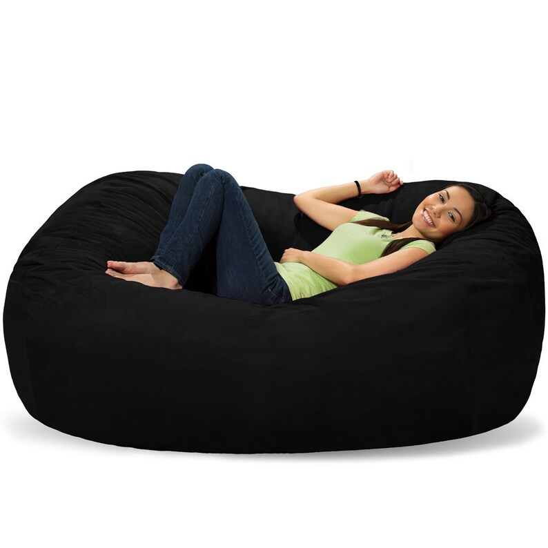 Enjoyable Ink Craft Extra Large 6 Fuf Comfort Suede Bean Bag Cover Only Ibusinesslaw Wood Chair Design Ideas Ibusinesslaworg