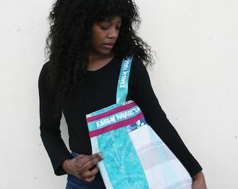 Bag Handmade designer embroidered street shoulder bag urban street style bag / boho designer street style bag