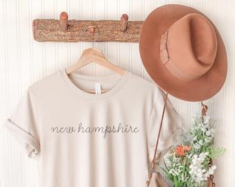 New Hampshire T-Shirt - New Hampshire Shirt - New Hampshire Women's Shirt - New Hampshire Bachelorette - New Hampshire T-Shirt