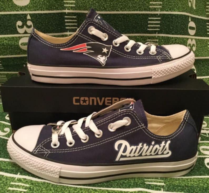 New England Patriots Converse Chuck