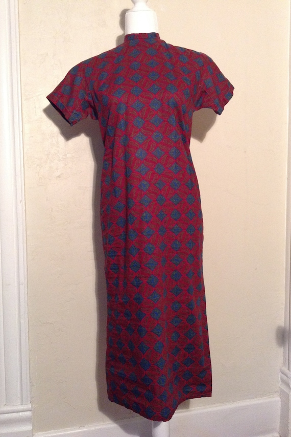 Vintage 40s Sheath Dress