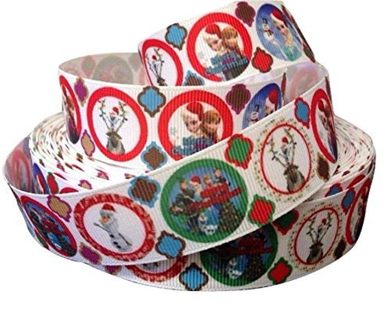 The Hungry Caterpillar Design Grosgrain Ribbon 25mm Brand New 1 Metre