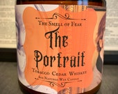 The Portrait Candle Tobacco Cedar Whiskey Scent Oscar Wilde 39 s The Picture of Dorian Gray Inspired Natural Soy Coconut Wax Blend