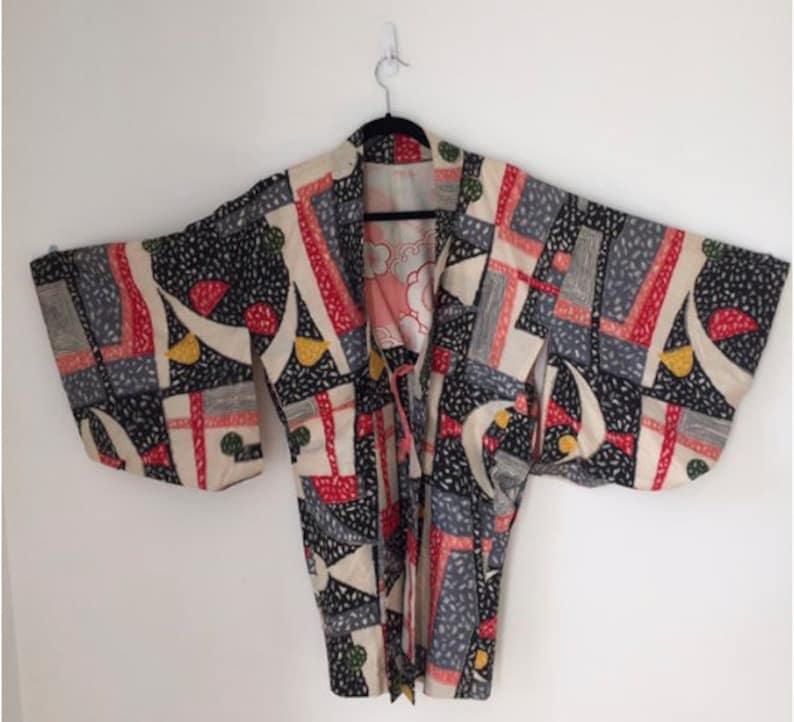 Vintage 80s Japanese Kimono