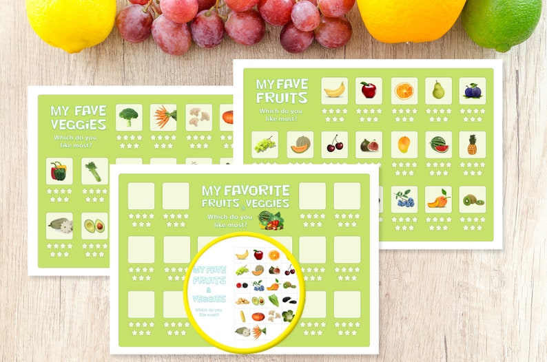 picture relating to Printable Fruit and Vegetables referred to as Culmination Greens little ones chart, Fruit and Veggie tracker clip artwork established Eco-friendly  Electronic, Printable, Quick down load