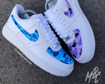 get cheap 90cf0 85777 Nike Air Force 1 - Bape Panels