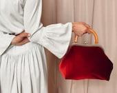 Velvet bag evening bag women fashion