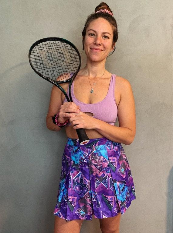 Vintage 90s Wilson Tennis Skirt, 90s Grunge Skirt,