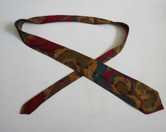 Color Swirl Tie