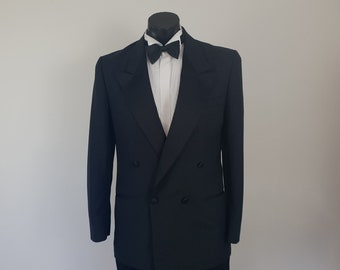 Double Breasted Tuxedo Jacket by Earl Knight - Size 38R