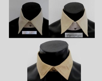 Your Choice of Mens Detachable Soft Collars - 1920s, 1930s