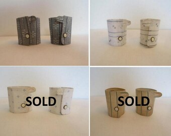 Antique Detachable Cuffs - Your Choice of Two Pairs