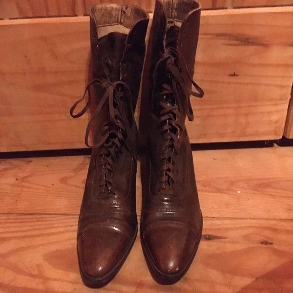 Antique Witchy Boots