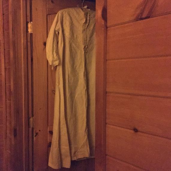 Antique House Coat