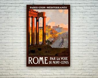 Rome Posters: Vintage Italian Travel Prints