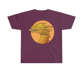 7207df1d2a4b4 Youth dragon t shirt | Etsy