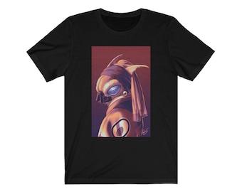 Kaiju Renaissance - Moth with a Pearl Earring Slim T-Shirt
