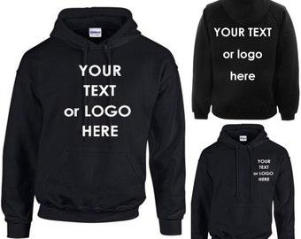 Custom Printed Hoodie Workwear Unisex Hoody Personalised Stag//Hen Event Hoodies