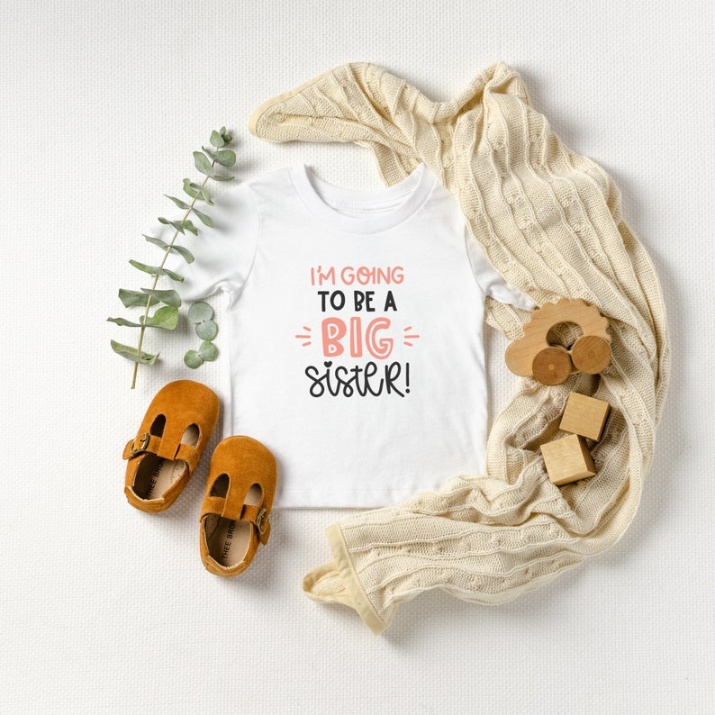 baby announcement Big Sister Shirt,i/'m going to be a big Sister big sister announcement sibling shirts new baby gift pregnancy reveal