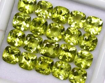 Pakistan 2.5mm 10pcs Lot Round Natural Untreated Green Peridot