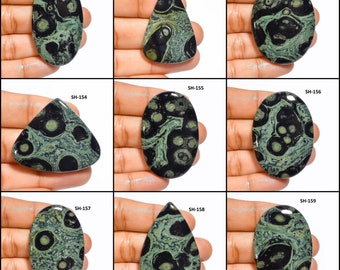 AAA Quality Rare Natural Star Galaxy Top quality loose stone Hand Made Gemstone Kambaba jasper Gemstone 67cts 35x35x6xmm