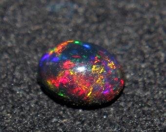 Pair of 2 pcs 8X6X4 MM 1.87 CTS Opal cabochon,Natural Ethiopian opal Oval Cabochon Welo Opal cabochon fire opal Ethiopian opal AAA opal