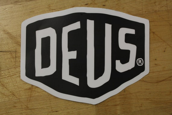 Deus Ex Machina Xl Premium Vinyl Sticker For Motorcycle Etsy