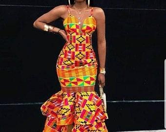 African Prom Dress Etsy,Plus Size Corset Wedding Dress Uk
